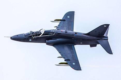 Hawk on nykyisin Ilmavoimien harjoitushävittäjäkone.