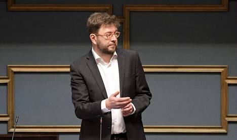 Timo Harakka on johtanut Sdp:ssä vero-ohjelman valmistelua.