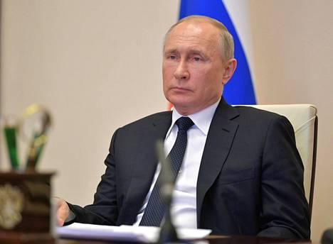 Presidentti Vladimir Putin keskiviikkona.