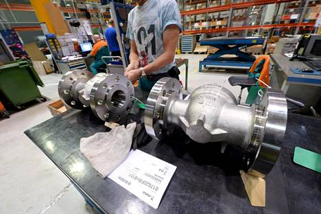 Suomen teollisuustuotanto on taas saavuttanut vuoden 2010 tason. Kuva Metson tehtaalta Vantaalta.