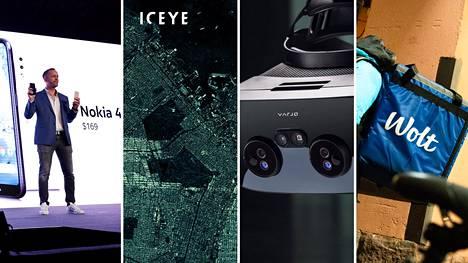 Vuonna 2020 suurimmat rahoituskierrokset keräsivät Suomessa Nokia-puhelimia valmistava HMD Global, avaruusteknologiayhtiö Iceye, VR-lasivalmistaja Varjo ja ruoankuljetusteknologian kehittäjä Wolt.