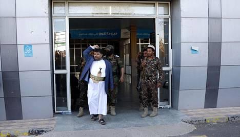 Huthikapinallisten johtaja Mohammed Ali al-Houthi kuvattuna marraskuussa 2019.