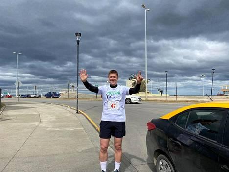 Punta Arenasissa maraton taittui alle neljässä tunnissa.