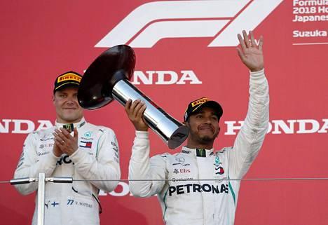 Valtteri Bottas on jäänyt Lewis Hamiltonin varjoon.