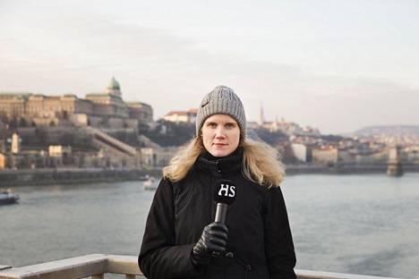 Suvi Turtiainen aloitti juuri HS:n itäisen Keski-Euroopan kirjeenvaihtajana Budapestissa.