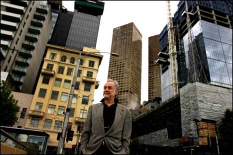 Michael Sorkin kuvattuna helmikuussa 2005.