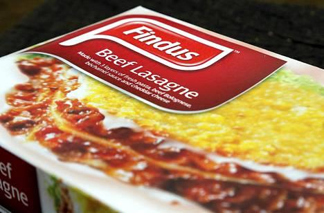 Finduksen lasagnessa oli naudanlihan sijaan hevosenlihaa.