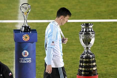 Argentiinan Lionel Messiä eivät lohdutuspalkinnot kiinnostaneet.