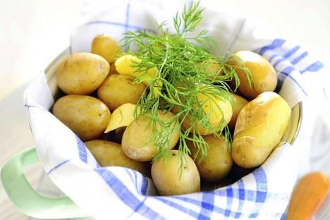 Keitettynä peruna on ravintoarvollisesti parhaimmillaan.