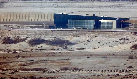 Kansallisen turvallisuusviraston NSA:n tiedonkeruuyksikkö Salt Lake Cityssä Utahin osavaltiossa Yhdysvalloissa.