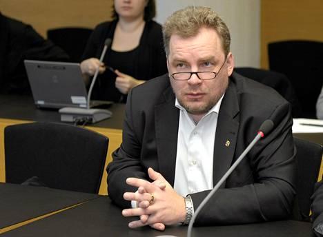 Nova-johtaja Arto Merisalo.