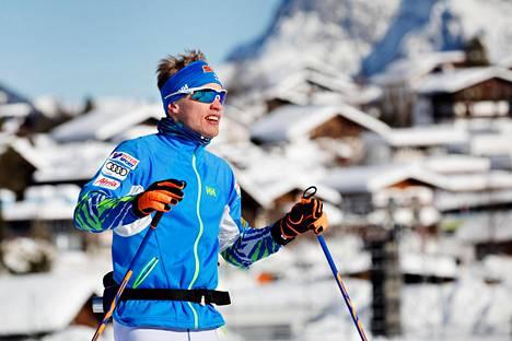 Maailmanmestari Iivo Niskanen on voinut tutustua Seefeldissä tuleviin MM-latuihin.