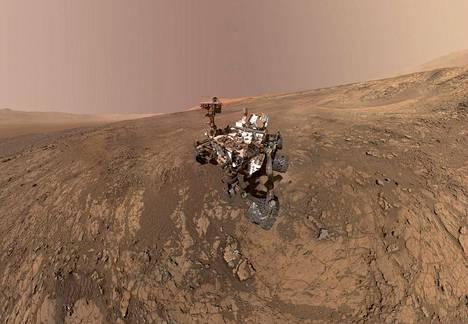 NASA:n Curiosity Mars -mönkijä tutki Marsin pintaa helmikuussa. Järvestä tutkahavainnon teki vuonna 2003 avaruuteen laukaistu Euroopan avaruusjärjestö Esan Mars Express -luotain.