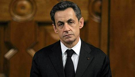 Ranskan entinen presidentti Nicolas Sarkozy.