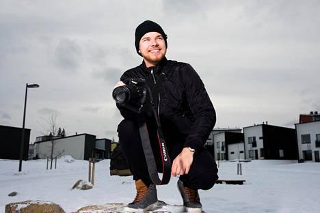 Eetu Hautamäki teki rakkaasta harrastuksestaan valokuvauksesta itselleen kesätyön.