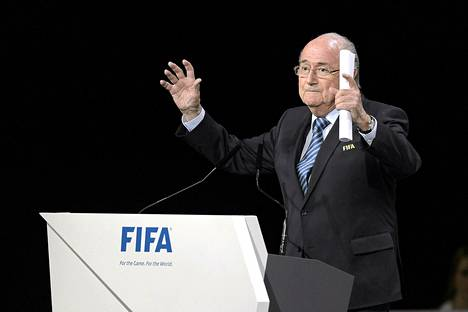 Sepp Blatter on johtanut kansainvälistä jalkapalloliittoa 17 vuotta.