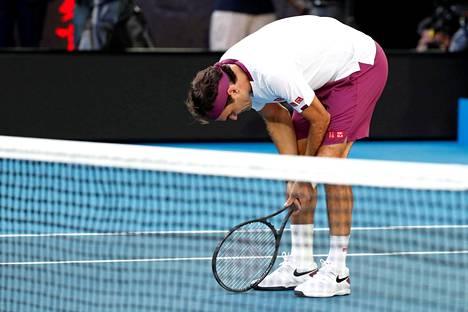 Roger Federerin olemus ottelun jälkeen kertoi paljon puolivälieräkamppailun luonteesta.