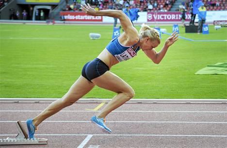 Hanna-Maari Latvala sijoittui seitsemänneksi 200 metrin finaalissa.