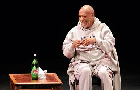 Näyttelijä Bill Cosby esiintyi Yhdysvalloissa Denverissä tammikuussa.