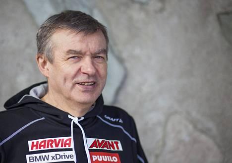 Suomen Ampumahiihtoliiton puheenjohtaja Kalle Lähdesmäki.