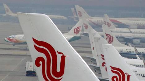 Kiinan valtio omistaa Air China -lentoyhtiön.