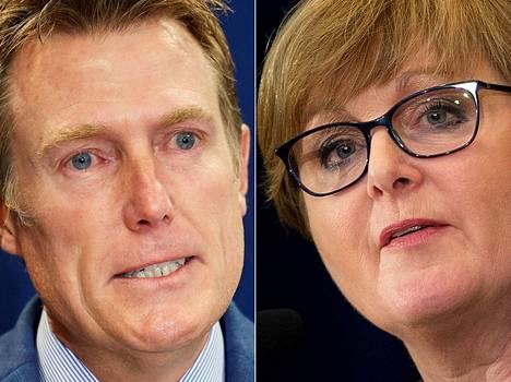 Australian kohujen keskiössä ovat ministerit Christian Porter ja Linda Reynolds.