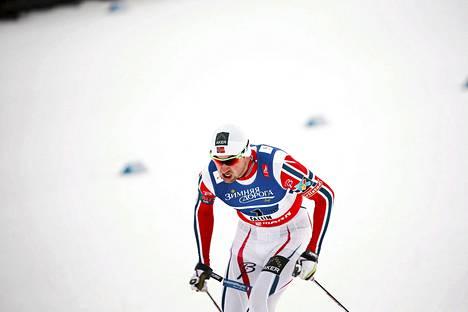 Norjan Petter Northugin epäillään harjoitelleen salaa Falunin hiihtoradoilla.