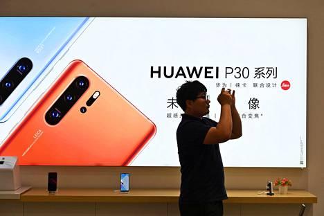Kiinalainen Huawei on maailman suurin verkkolaitteiden valmistaja.