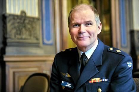 Jarmo Lindberg kuvattuna vuonna 2012.