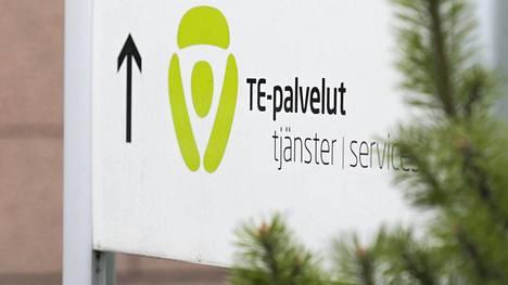 Te-toimisto Helsingin Pasilassa.