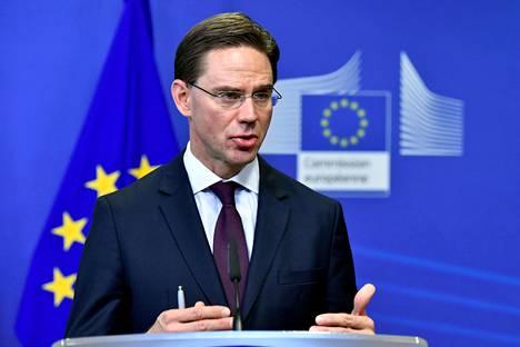 EU-komission varapuheenjohtaja Jyrki Katainen