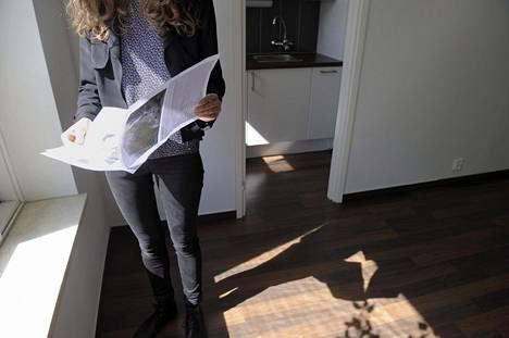 Asuntolainakannan vuosikasvu oli 3,8 prosenttia maaliskuussa.