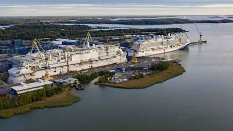 Meyer Turun telakka 18. syyskuuta 2020.