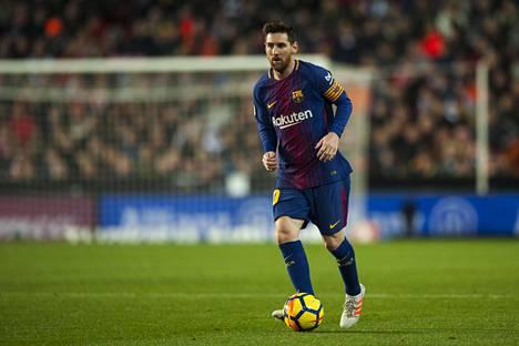 Lionel Messin maali jäi näkemättä Valencia-ottelun erotuomareilta.