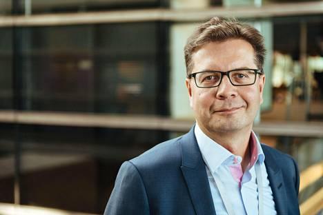 HS:n päätoimittaja Antero Mukka.