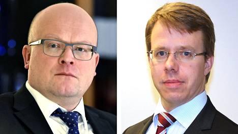 Mikko Hautala (vas.) lähtee suurlähettilääksi Washingtoniin ja Antti Helanterä Moskovaan.