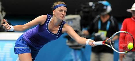 Petra Kvitova on kovassa iskussa.