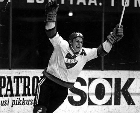 Juha Rantasila oli maaleja tekevä puolustaja HIFK:n 60-luvun lopun ja 70-luvun alun joukkueessa.