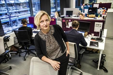 Baronan toimitusjohtaja Minna Vanhala-Harmanen aloitti uudessa työssään vuoden alussa.