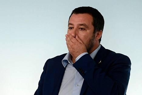 Italian sisäministeri Matteo Salvini
