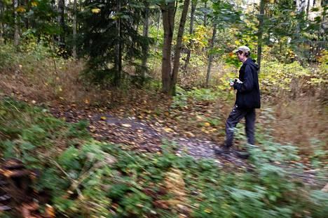 Juha Hurme runs and walks a lot in nature.