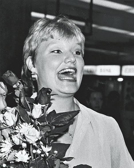 Voitto Cardiffissa 1983.