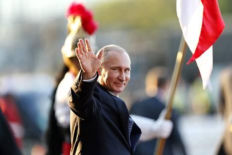 Venäjän presidentti Vladimir Putin Brasiliassa heinäkuussa.