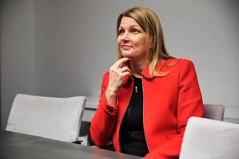 Kaupan liiton toimitusjohtaja Mari Kiviniemi.