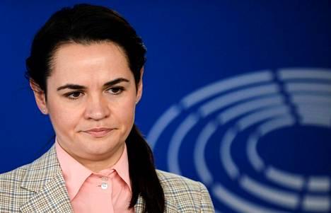 Svjatlana Tsihanouskaja on noussut Valko-Venäjän opposition kärkihahmoksi.