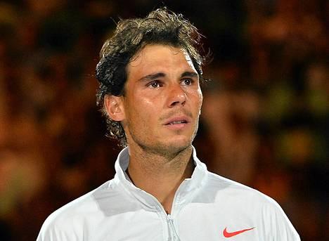 Rafael Nadal on kärsinyt muun muassa selkä- ja polvivammoista uransa aikana.