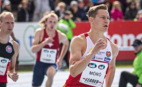 Oskari Mörö Kalevan kisoissa 2019.