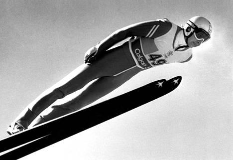 Matti Nykäsen uran huippuhetki oli Calgaryn olympialaisissa, jossa hän voitti kolme kultamitalia.