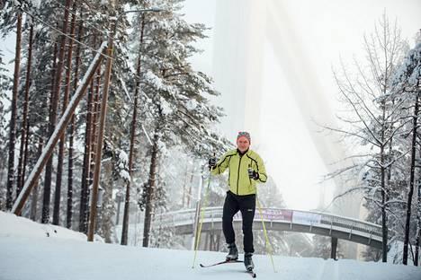 Antti Sihlman antaa kiitosta erityisesti perinteisille Salpausselän laduille.
