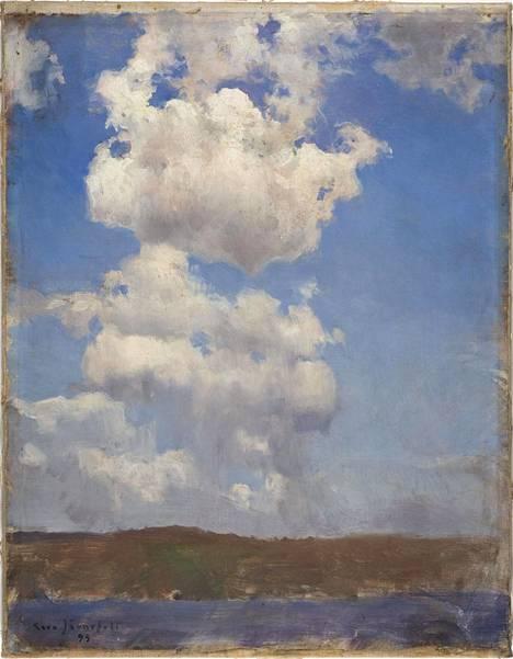 Eero Järnefeltin Pilviharjoitelma on vuodelta 1893.